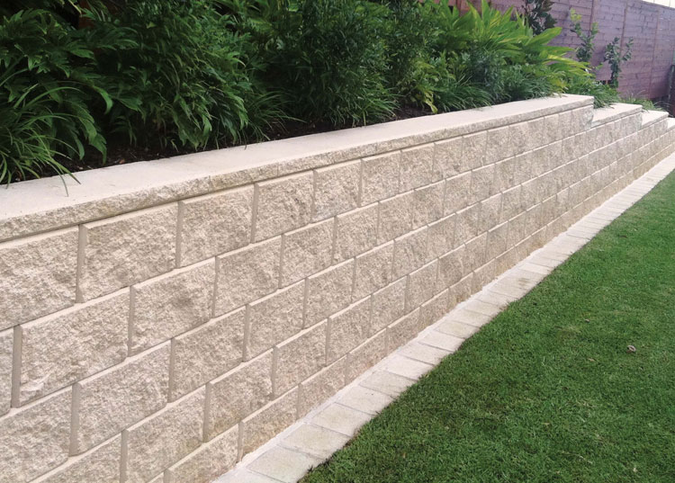 Tasman Retaining Wall System Full Corner Block