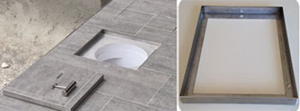 Quad Stone Recess Frame - Suitable for Quad Stone Skimmer Lid