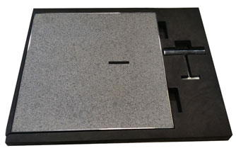 Quad Stone Skimmer Lid - Custom made using your choice of Paver