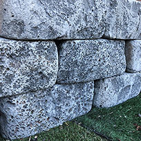 Basalt Tumbled Blocks / Garden Edging