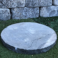 Basalt Honeycomb Stepping Stones