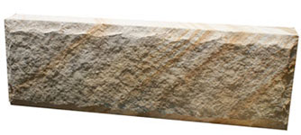 Australian Sandstone Hydraspilt Faced Blocks 250mm High