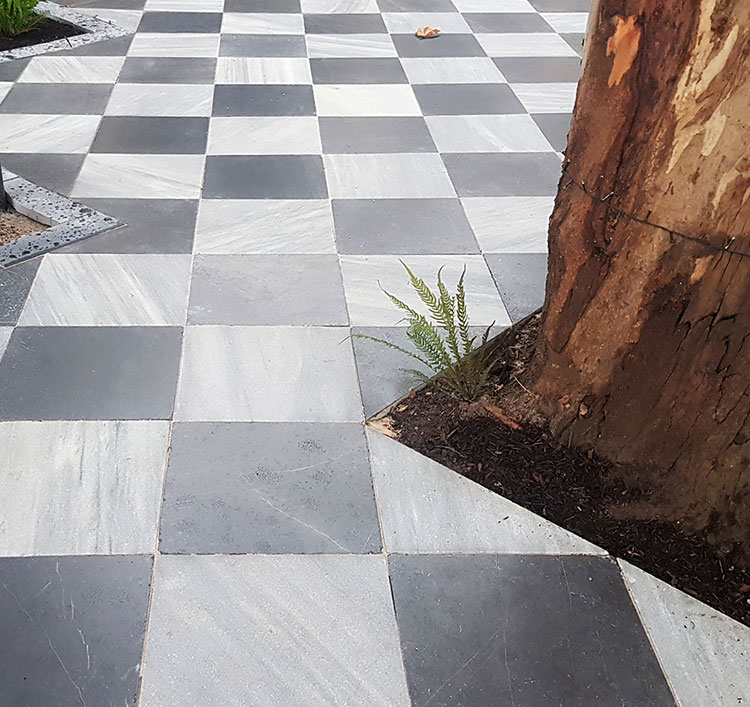 Lavido Tumbled Marble 400 x 400 x 30mm Pavers