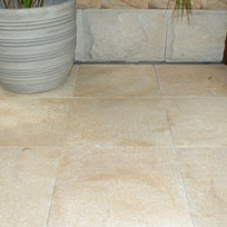 Vintage French Cremar Travertine 400 x 400 x 25mm Pavers