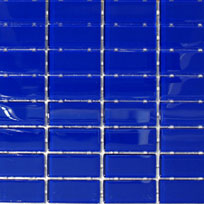Waterline Tile (Mosaic) - Royal Blue (23 x 48mm)